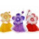 Набор феи: крылья-цветочек 45*45 см, палочка-цветочек,3-слойная юбка