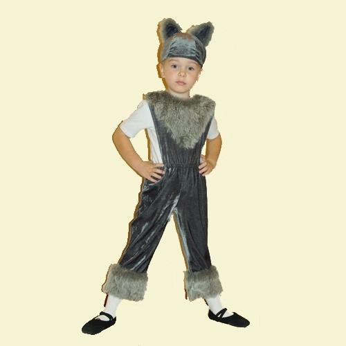 Костюм волка для мальчика своими руками фото