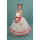 Платье нарядное коралловое OD04
