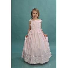 Платье нарядное розовое PR40