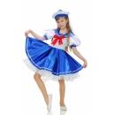 Костюм  Морячки  для девочки ( рост 110-116 см)