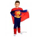 Костюм Супермен (104-110 см). Прокат