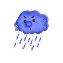 Костюм Тучки, дождика для мальчика