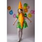Костюм Морковки для девочки (рост 122 )